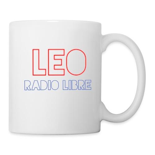 Léo Radio Libre png - Mug blanc