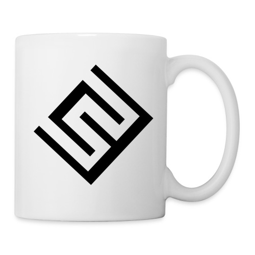 ChrisWhippit Logo svart - Mugg