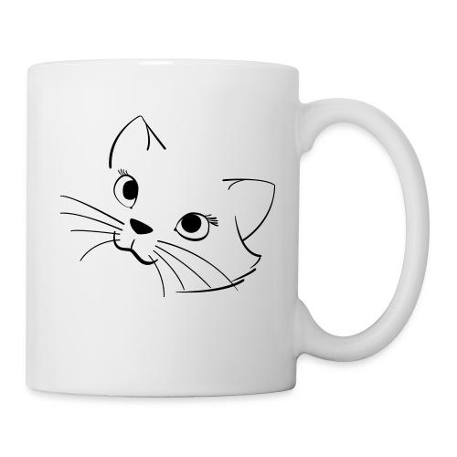 En söt katt - Mugg
