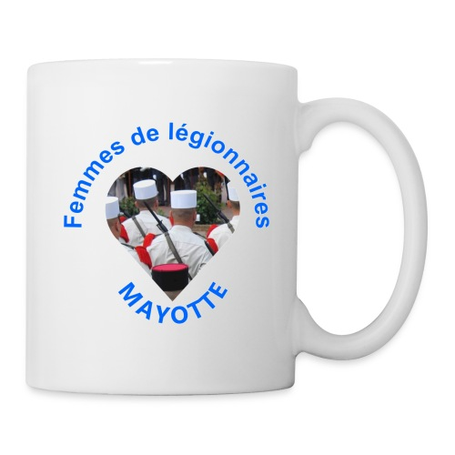 logo mayotte - Mug blanc