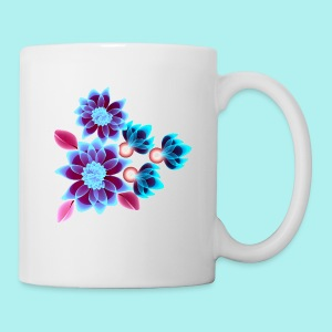 Hypnotic flowers - Tasse