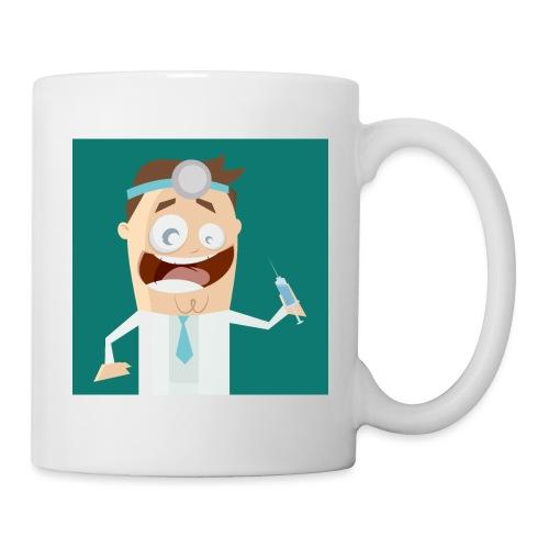 Lustiger verrückter Arzt - Tasse