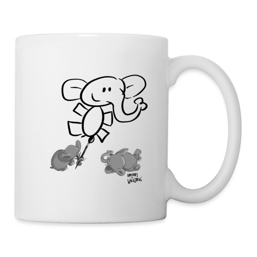When elephants paints elephants light - Mugg