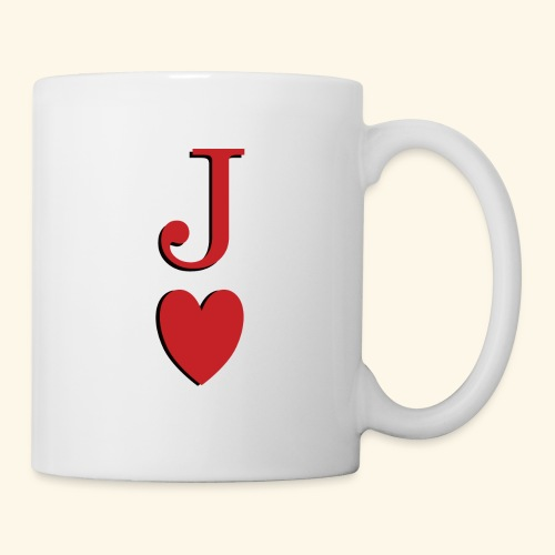 Valet de trèfle - Jack of Heart - Reveal - Mug blanc