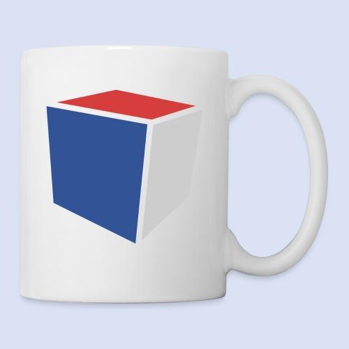 Cube Minimaliste - Mug blanc