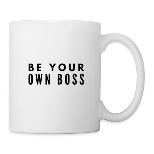BE YOUR OWN BOSS - Erfolg im Business - Motivation - Tasse