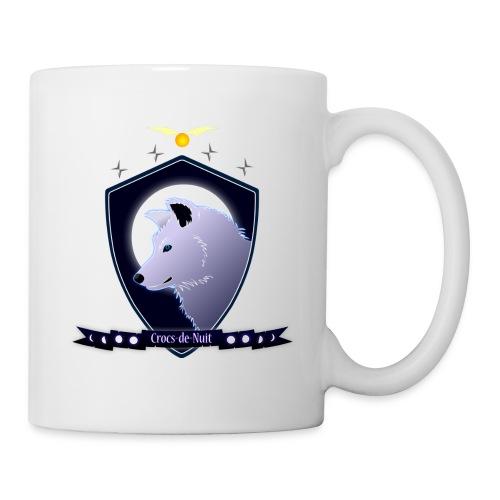 Logo Crocs de Nuit - Mug blanc