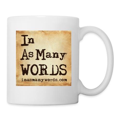 I AM Words LOGO_Brown - Mug