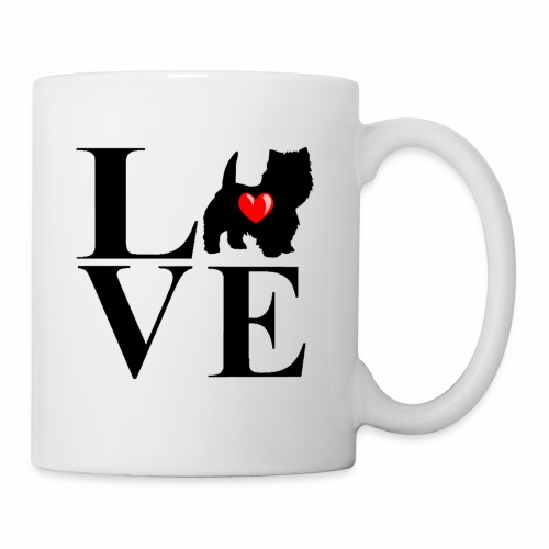 westie love design - Mug