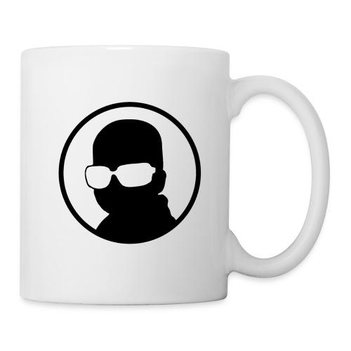 Logo Korben NOIR - Mug blanc