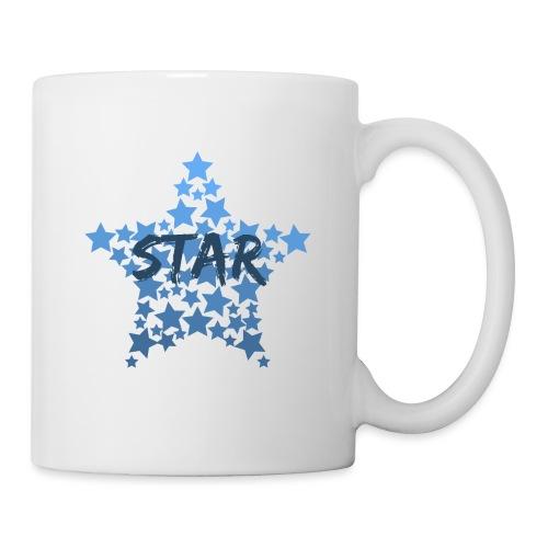 Blue star - Mug