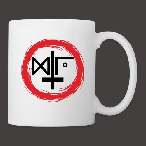Logo Gu Croix Noir - Mug blanc