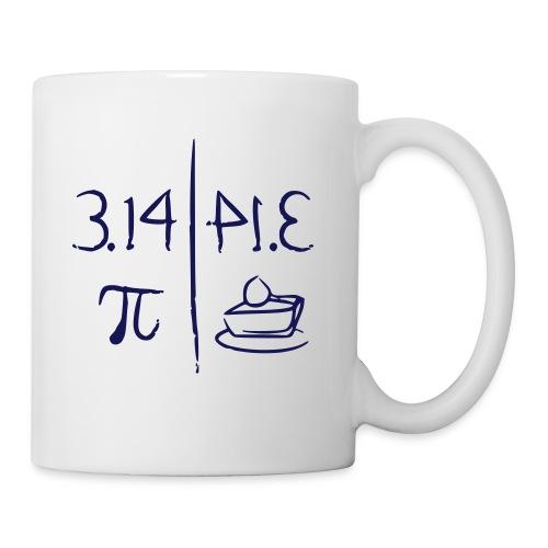pi vs pie - Mug