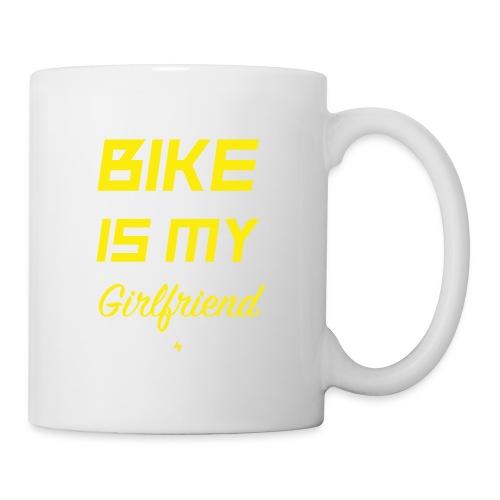 BIKE IS MY GIRLFRIEND - Tasse