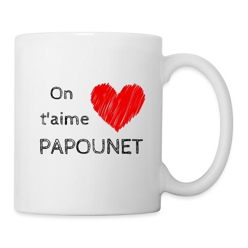 On t'aime papounet - Mug blanc
