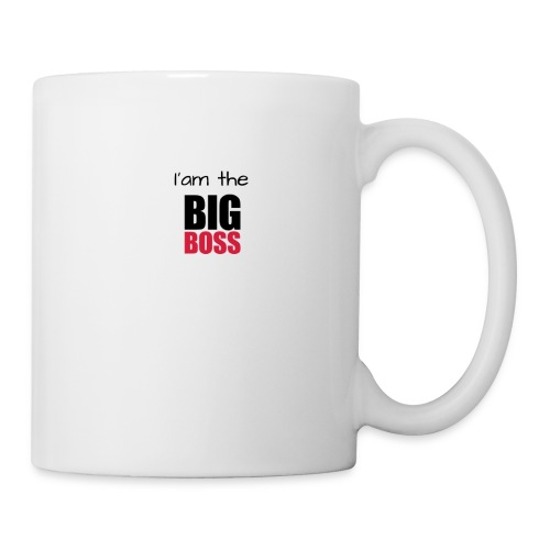 I am the big boss - Mug blanc