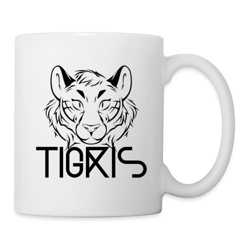 Tigris Logo Picture Text Black - Mug