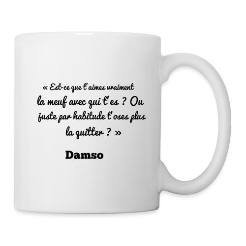 Punchline de Damso - Mug blanc