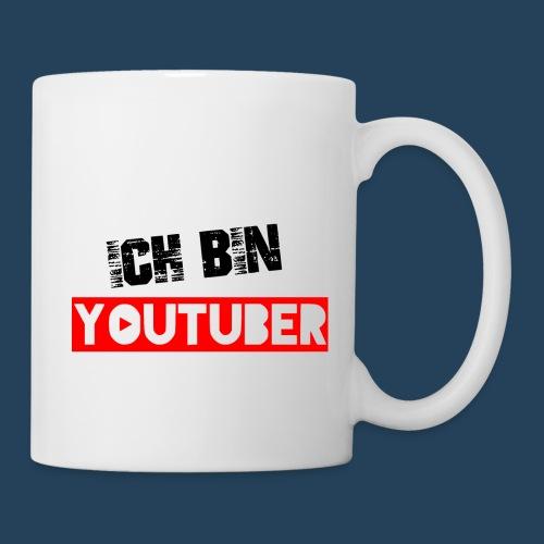 Ich bin Youtuber! - Tasse