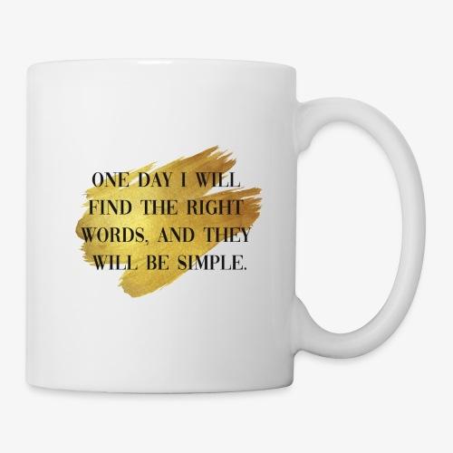 One day - Mug
