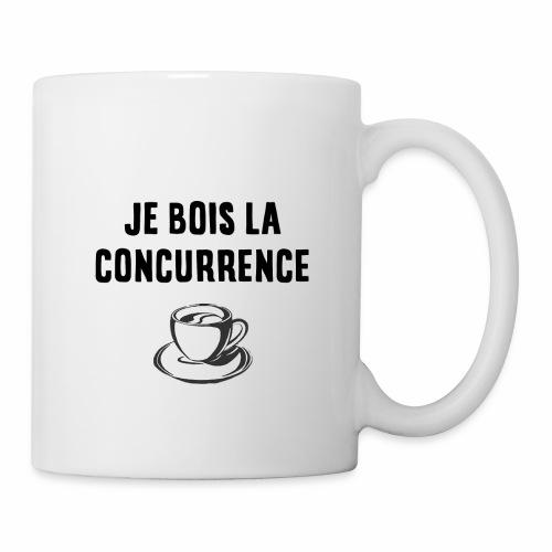 Mug - Je bois la concurrence - Mug blanc