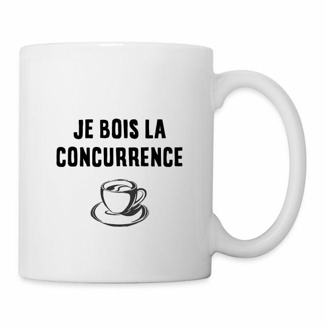 Mug - Je bois la concurrence