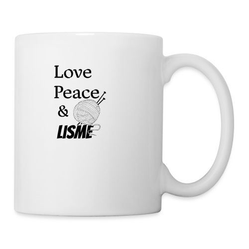 Love Peace & Lisme - Tasse