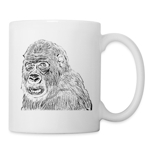 singe - Mug blanc