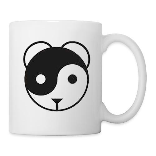 panda yin-yang - Mug blanc
