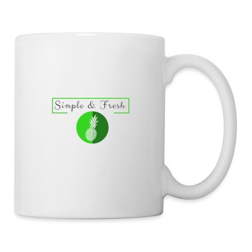 Simple et Fresh - Mug blanc