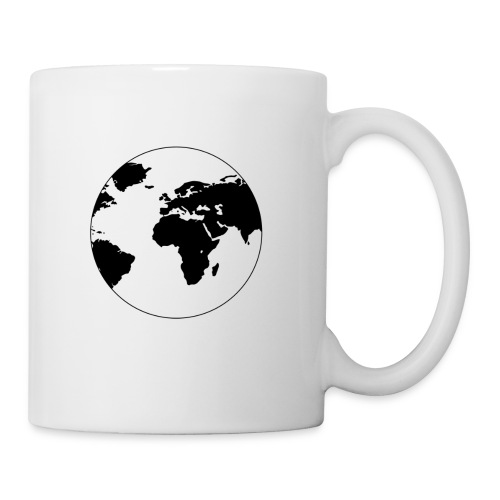Cooles Design Erde - Tasse