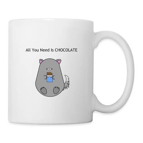 All you need is Chocolate - Mugg