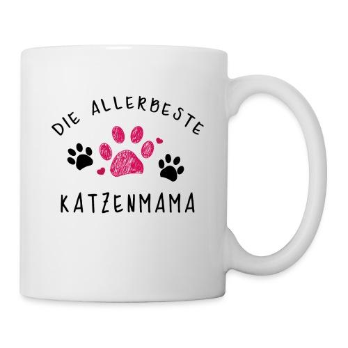 Die allerbeste Katzenmama - Tasse
