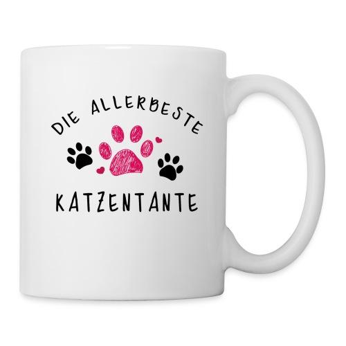 Die allerbeste Katzentante - Tasse