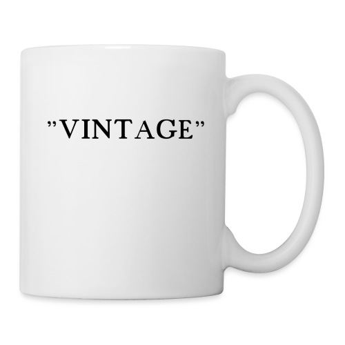 VINTAGE - Mug blanc
