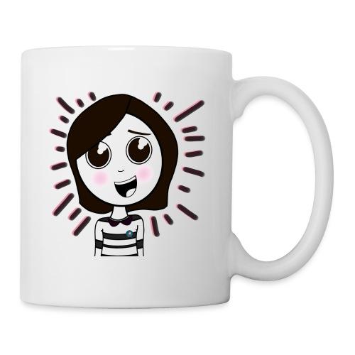 Happy girl ! - Mug blanc