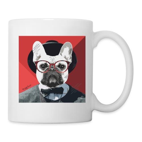 French Bulldog Artwork 2 - Tasse