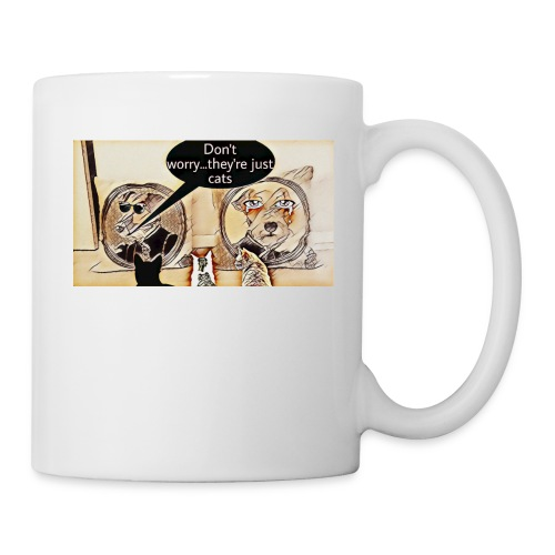 Dogs VS Cats - Mug blanc