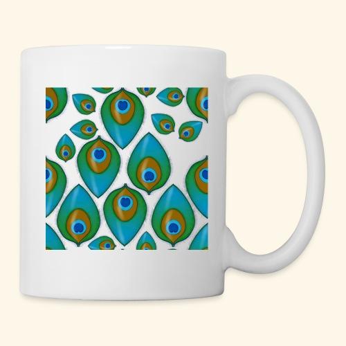 peacock tile png - Mug