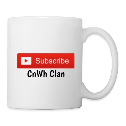 Subscribe CnWh Clan Merch - Mugg
