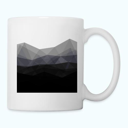 Minimalistic triangle geometry - Mug