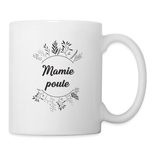 Mamie poule - Mug blanc