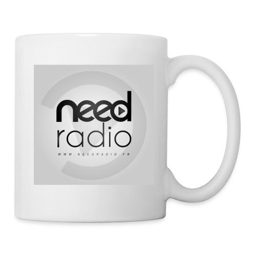 Logo CARRE NEED Radio - Mug blanc