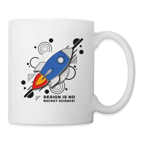 Design is no Rocket Science Nummer 3 - Tasse