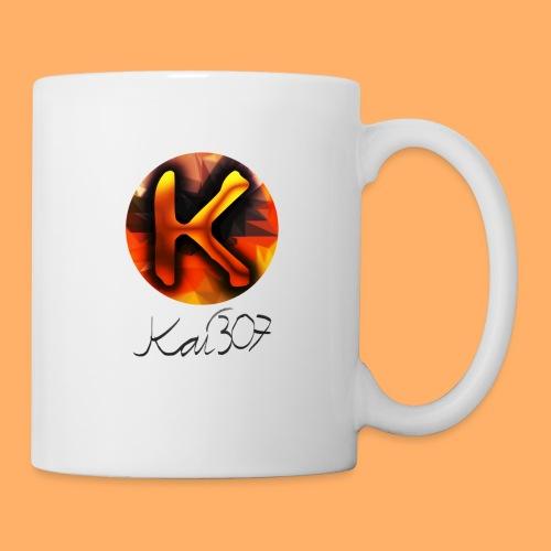 Kai_307 - Profilbild + Unterschrift Schwarz - Tasse
