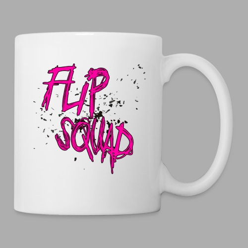 FlipSquad rosa partiklar - Mugg