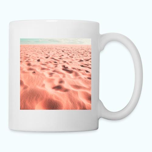 Sand beach minimalism - Mug
