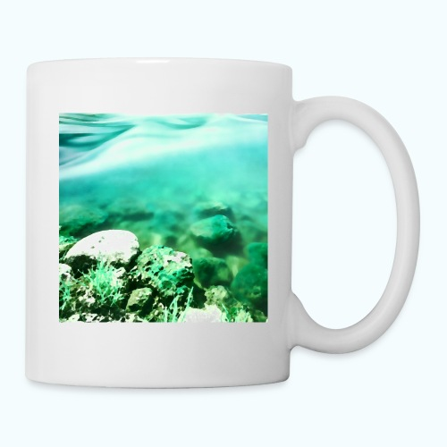 Zen beach watercolor minimalism - Mug