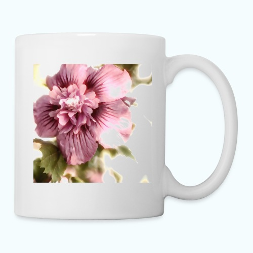 Pink flower watercolor minimalism - Mug