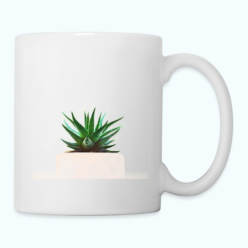 Simple plant minimalism watercolor - Mug